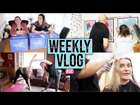 NEW HAIR, NEW PRINTS, NEW LIFESTYLE | Weekly Vlog #32 ad