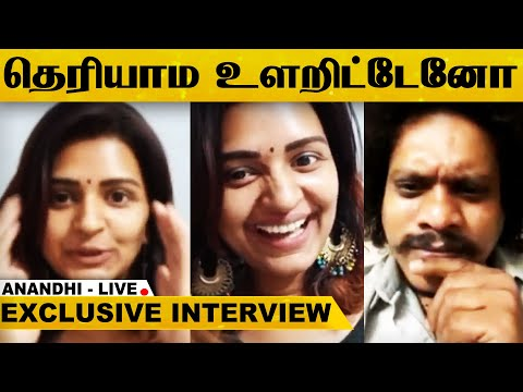 Pugazh-க்கு இன்னொரு Face இருக்கு - Exclusive LIVE CHAT With Actress Anandhi...! | Insta LIVE | Tamil