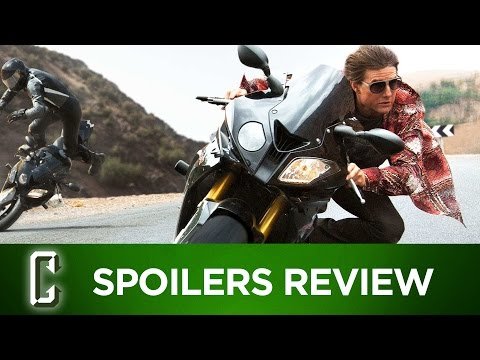 Mission: Impossible Rogue Nation Spoilers Review poster