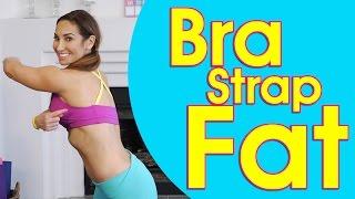 Bra Strap Trap: Back Fat Attack Exercises   Natalie Jill