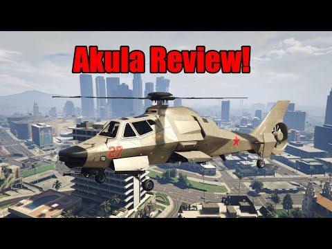 GTA Akula Review And Test Vs Other Helis