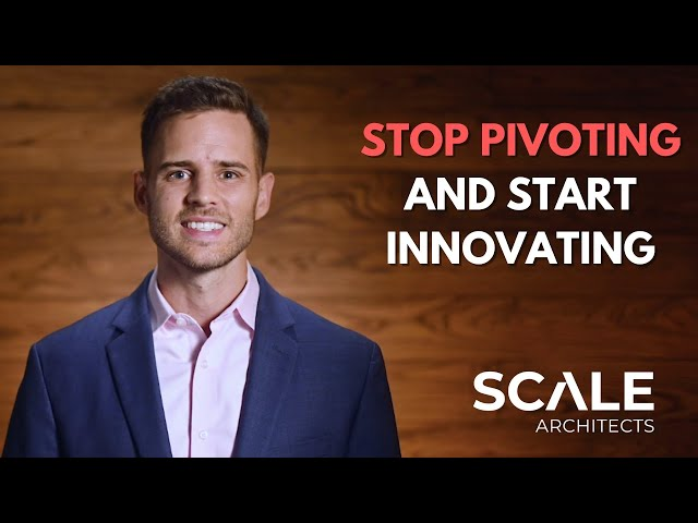 Stop Pivoting and Start Innovating