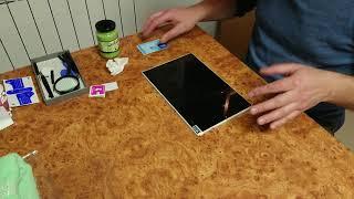 Как наклеить пленку на планшет. Хитрость, которую все скрывают! DIY.