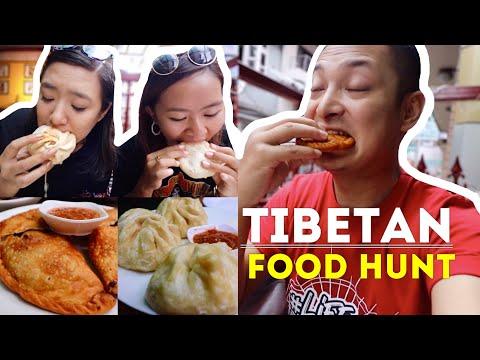 TIBETAN FOOD HUNT - Ft. Saddixya Gurung, Kichhy Vlogs || LITTLE TIBET IN KATHMANDU ||