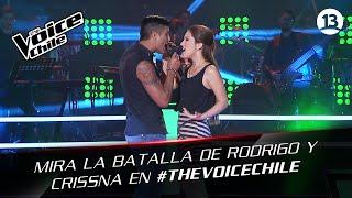 The Voice Chile | Rodrigo y Crissna - Si me vas a abandonar
