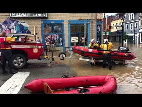 Millvale Borough Flooding 7/5/18