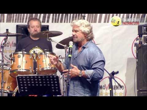 Beppe Grillo - 24 Settembre - Italia 5 Stelle 2016