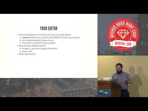 Wicked Good Ruby 2013 - PEACE: Programming Expertly Amid Corporations & Enterprises