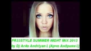 Freestyle Summer Night Mega-Mix 2013. miami latin freestyle music mix