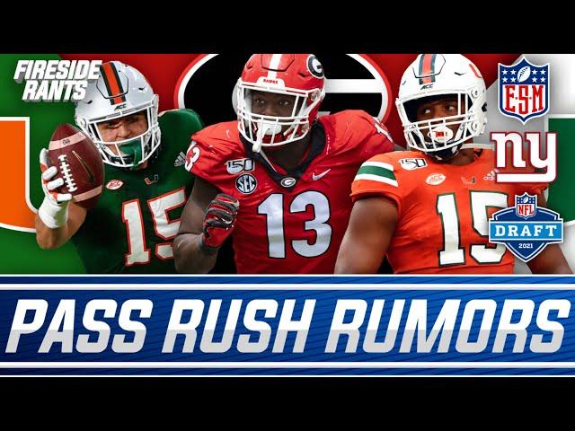 New York Giants Draft Rumor Circulating   Pass Rusher At 11?