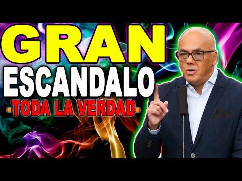 URGENTE JORGE RODRIGUEZ GRAN ESCÁNDALO SE DESCUBREN TODA LA VERDAD