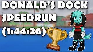 Donalds Dock Speed Run PB (1:44:26)