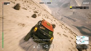 Dakar 18 Gameplay - Primeros 13 minutos de la Etapa 5 - Marcona - Arequipa (Version WIP)