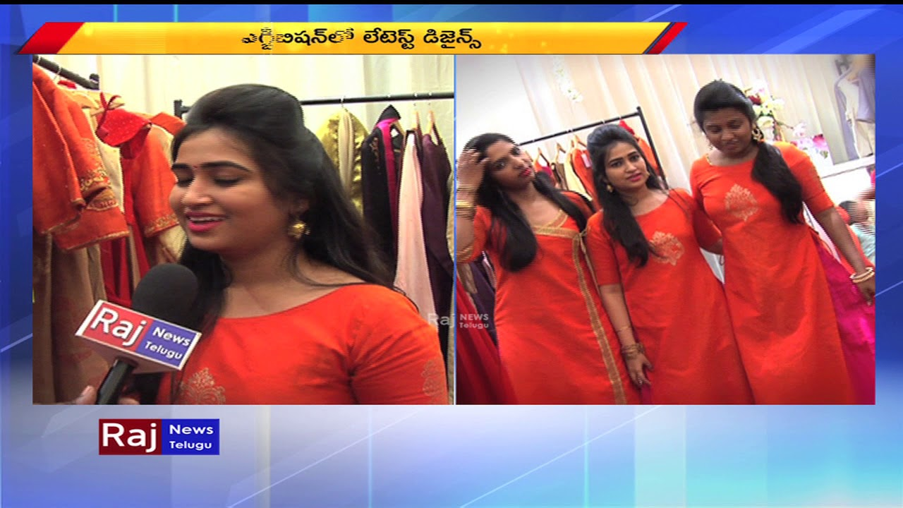 Hamstech Fashion Designing Institute Students Counducts Fashion Expo In Hyderabad Raj News Telugu Youtube