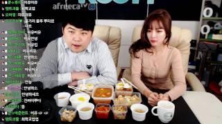 [1] [크리스마스] 특집 BJ'미유'와 (간장불고기 & 돼지불고기) 먹방 - KoonTV
