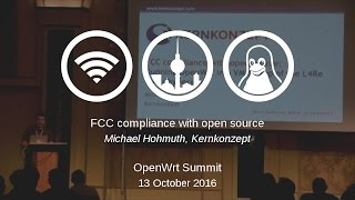 FCC compliance with open source: Running OpenWrt in a VM on top of the L4Re microhypervisor