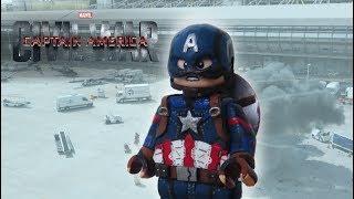 Lego Captain America Custom Minifigure
