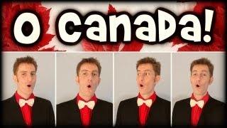 O Canada (Canadian Anthem) - Trudbol Barbershop Quartet