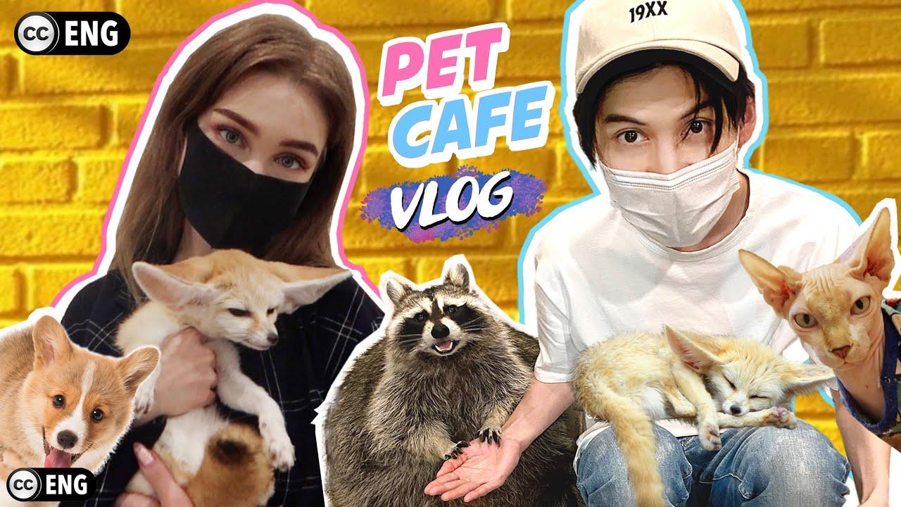 ครั้งแรก พาแอนนี่เข้า pet cafe ตื่นเต้นตาแตกแค่ไหน?! [ENG SUB]