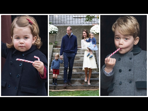 Prince William & Kate Middleton's Kids ( Son, Prince George & Daughter, Princess Charlotte ) | 2017