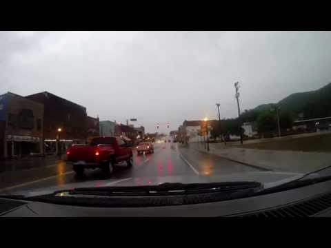 Driving in and around LaFollette Tennessee in the rain