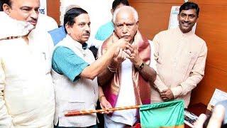bs yeddyurappa takes charge as karnataka bjp president