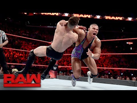 Finn Bálor vs. Jason Jordan: Raw, Aug. 21, 2017