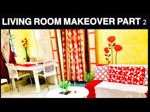 Small Indian Living Room Decorationg Ideas | DIY | Cheap Makeover part 2