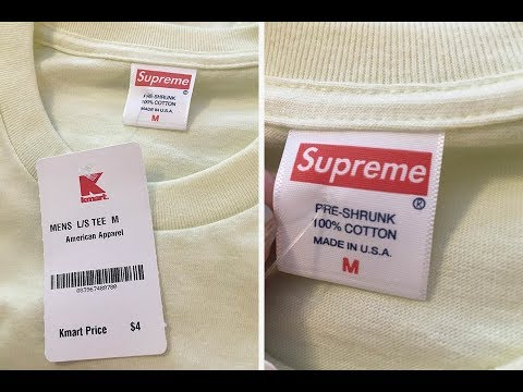Kmart Is Actually Ing Authentic Supreme T Shirts For Only 4 Not Clickbait Real