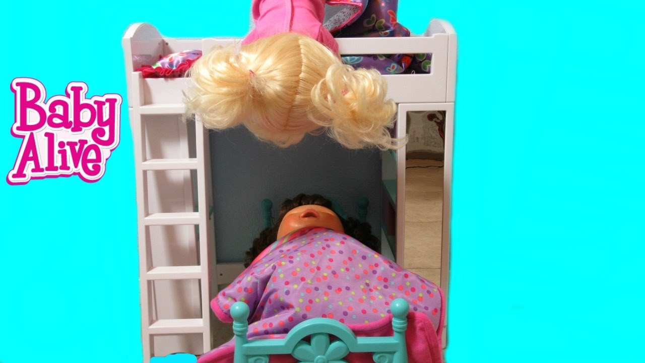 baby alive real surprises doll sneaks out of bed and funny dc superhero girl