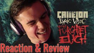 CALLEJON - Fürchtet Euch! | Reaction & Review | #DerRockSchopp