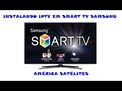 INSTALANDO IPTV EM SMART TV SAMSUNG  01-06-15