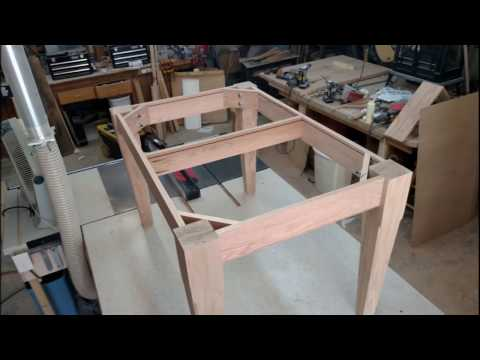 Building a Dining Room Table Out of Red Oak