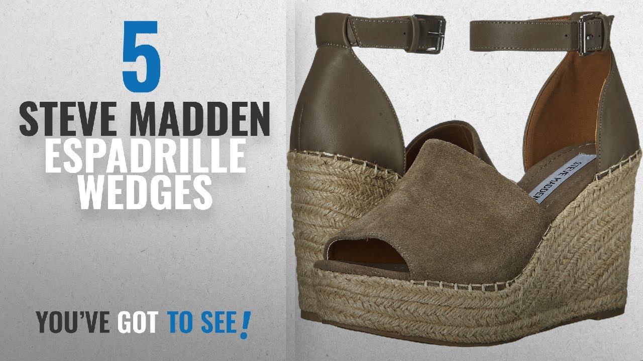 ea20cb9ed61 Top 5 Steve Madden Espadrille Wedges  2018   Steve Madden Women s Marina Wedge  Sandal