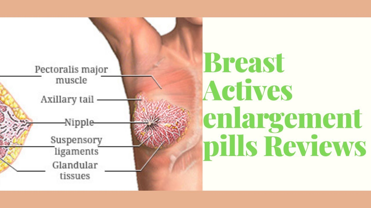 Breast Actives Enlargement Pills Reviews Youtube