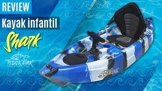 """Vídeo: Kayak de pesca infantil """"Shark"""""""