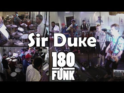 Sir Duke (Stevie Wonder) by 180 Funk & The Supreme Court Jesters