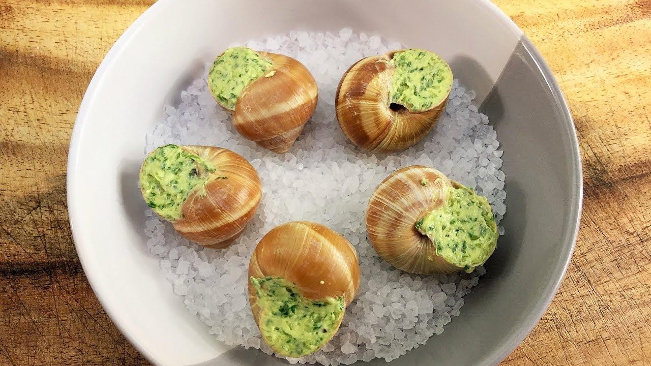Grape snail: cooking recipe. Snail Food 40