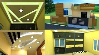 House front elevation living room false ceiling bedroom cupboards kitchen cabinets design ideas