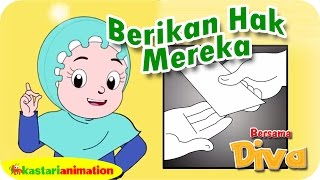 BERIKAN HAK MEREKA | Lagu Anak Islami | Nyanyian Rukun Islam | Kastari Animation Official