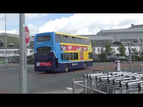 Buses At Dublin Airport (21/5/19)