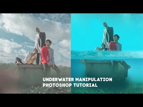 Underwater Manipulation Photoshop Tutorial 2019 thumbnail