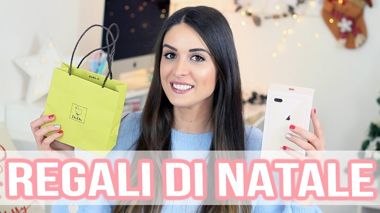 Regali Di Natale Video.I Miei Regali Di Natale 2017 Youtube