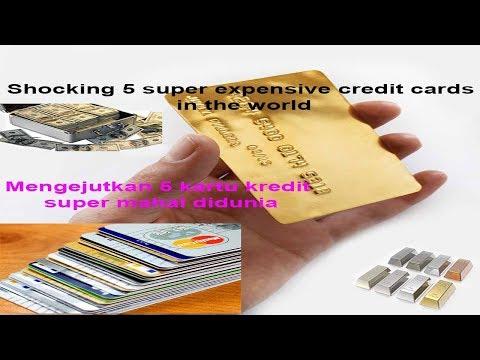 shocking 5 super expensive credit cards in the world - heboh 5 kartu kredit paling mahal didunia
