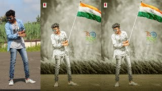 26 JANUARY REPUBLIC DAY SPECIAL PHOTO MANIPULATION PHOTOSHOP TUTOROAL | PHOTO EDITING 2018