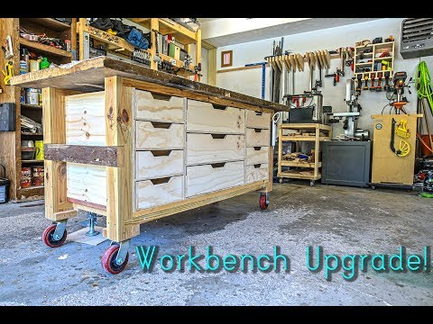 Adding Drawers to My Workbench // Woodworking // DIY