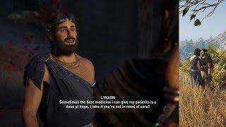 Assassin's Creed Odyssey Lykaon Romance (Alexios)