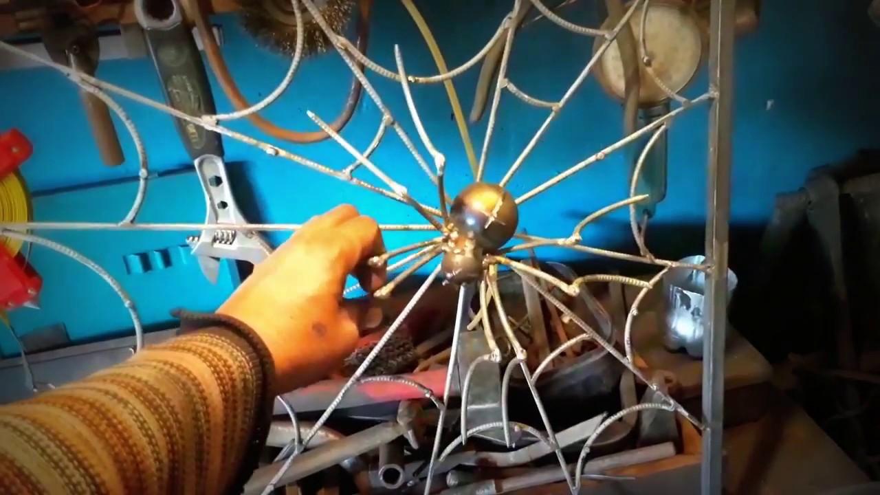 Паука из металла своими руками фото 211