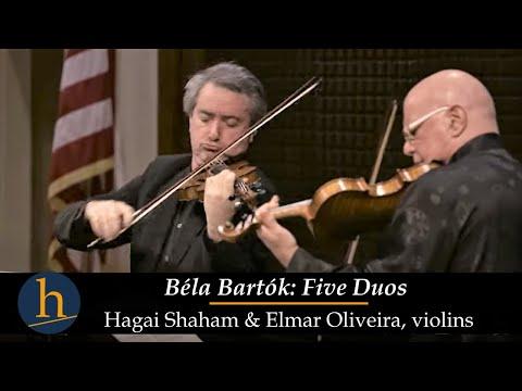 Heifetz 2016: Elmar Oliveira & Hagai Shaham |  Bartok: 5 Duos