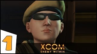 Let's Play XCOM: Enemy Within (PC Gameplay) - Part 1: New Stuff